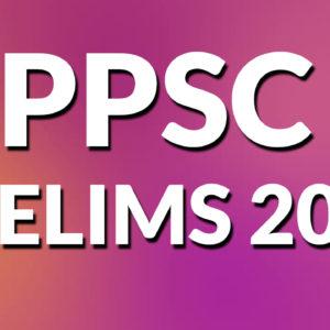 PPSC Prelims 2020