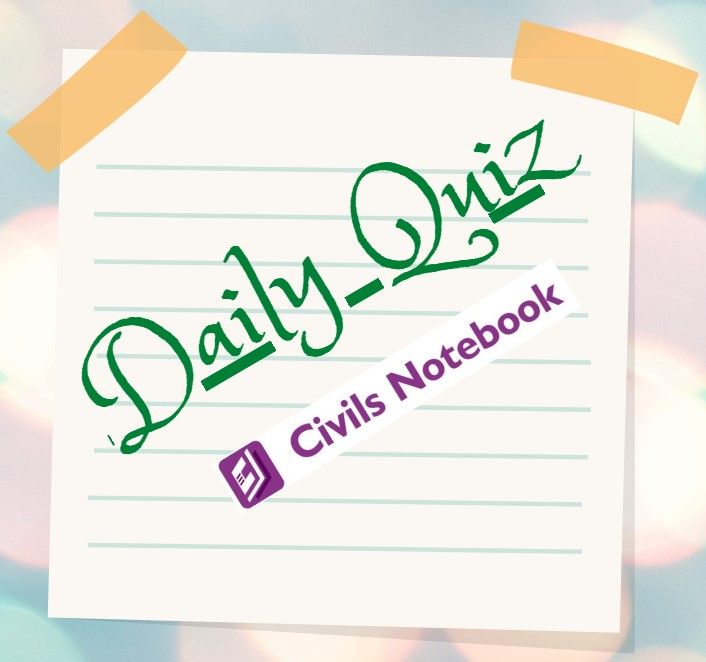 Daily Quiz: 20th and 21st April