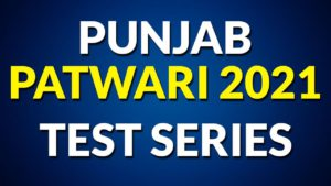 Punjab Patwari Test Series