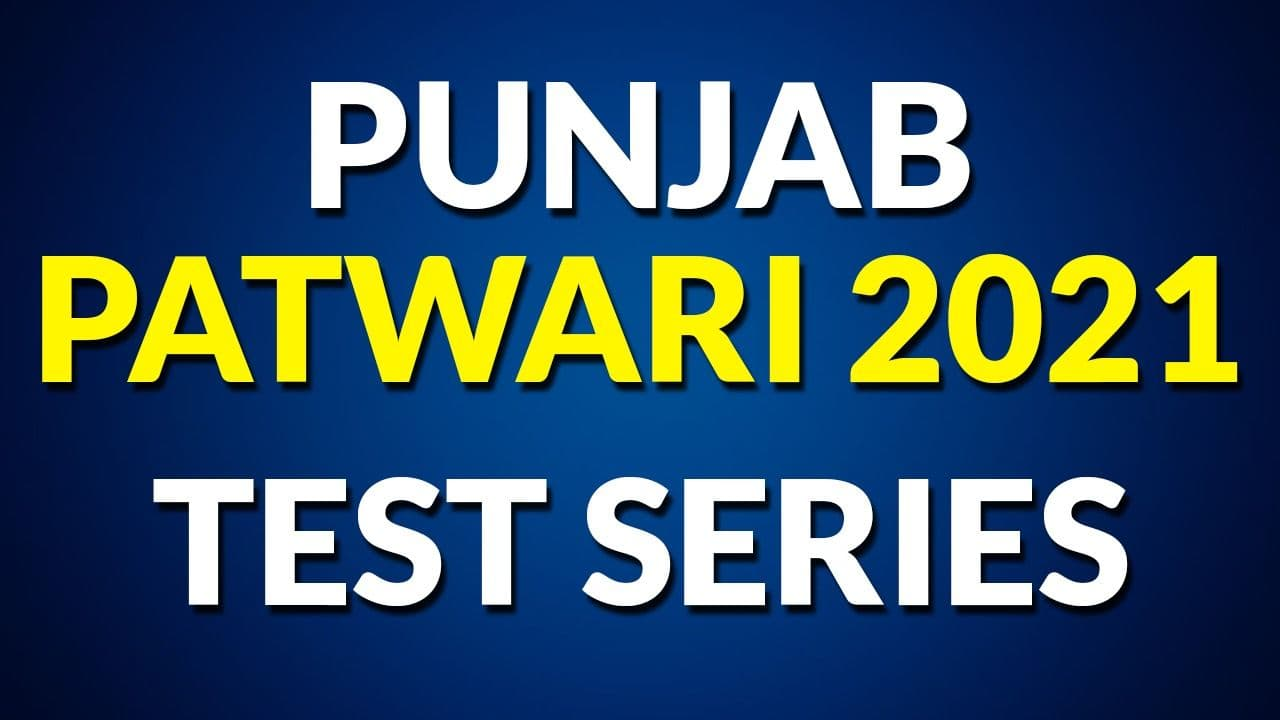 Punjab Patwari Test Series